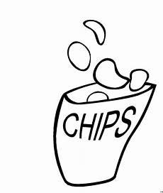 Malvorlagen Kostenlos Chip Chips Ausmalbild Malvorlage Nahrung