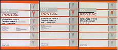 car repair manual download 1990 pontiac grand prix turbo interior lighting 1991 pontiac grand prix repair shop manual original 3 volume set