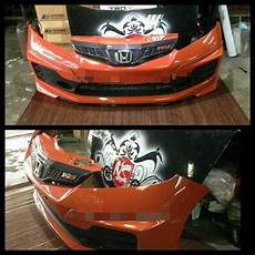 honda fit jazz usdm front grill rs design 2nd gen ge6 ge8 car accessories carousell