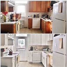 Kitchen Backsplash Budget by Before After 387 Budget Kitchen Update Hometalk