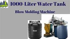 1000 liter water tank molding machine