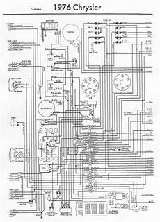 Free Auto Wiring Diagram 1976 Chrysler Cordoba Engine