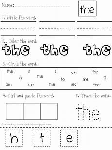 lovely literacy more sight word study