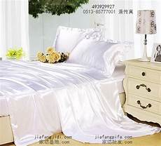 silk satin white bedding king queen size bedspread quilt duvet cover bed in a bag sheets