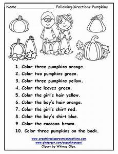 following directions worksheets kindergarten 11712 following directions freebie speech activities speech language following directions