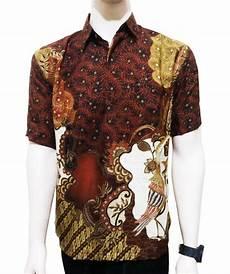 jual beli kemeja batik modern baju batik hem batik pria cowok murah brand02 baru baju