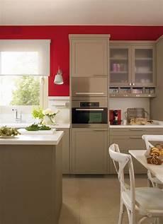Modern Beige Kitchen Design With Walls Digsdigs