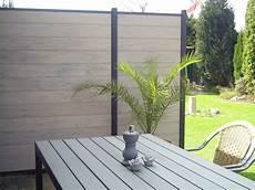 7 2 Lfm Wpc Sichtschutzzaun 180 X 180 Cm Gartenzaun