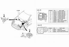 2011 kia optima fuse diagram 912004u151 genuine kia wiring assembly front