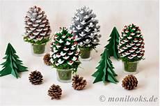 Diy Weihnachtsdeko Basteln Mit Tannenzapfen