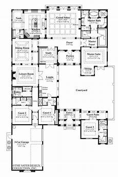 single story house plans with courtyard the mezzina house plan courtyard house plans u shaped