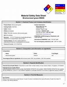 msds for strontium nitrate