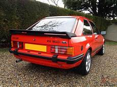 ford rs1600i rs 1600i not rs turbo xr3i