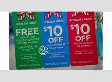 bath and body works online coupons