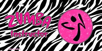 Zumba Instructor License Plate Tag Novelty