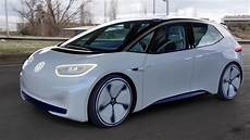 volkswagen id hatchback new electric car 2020