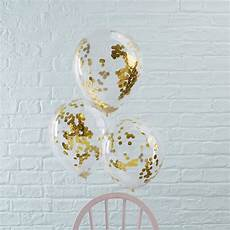ballons mit konfetti ballons mit konfetti gold 5 st weddix de