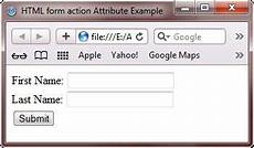 html form action attribute