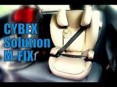 cybex kindersitz solution m fix familybook