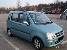 Opel Agila Gebraucht - 2002 opel agila 1 2 16v comfort car photo and specs