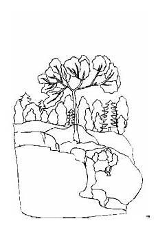 Malvorlagen Landschaften Gratis Pc Baum Am Wasser Ausmalbild Malvorlage Landschaften