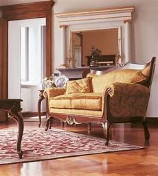 divani classici di lusso divano imbottito con intagli per salotti in stile di