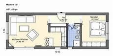 Modern 1 0 Gr Haus Grundriss Grundriss Wohnung