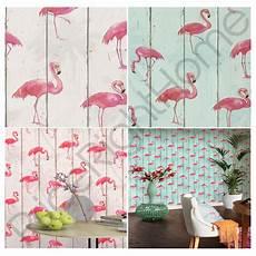 muster für wände rasch barbara flamingo tapete aquamarin natur neue