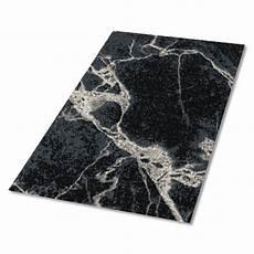 schwarzer teppich teppich schwarzer marmor