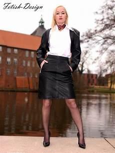 leather skirt knee length black leather skirt soft