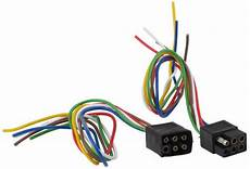 6 Pole Square Trailer Wiring Connector Kit Car And