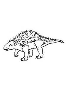 Ausmalbilder Dinosaurier Ankylosaurus Ausmalbild Ankylosaurus Ein Saurier Der