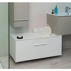 aqua meuble salle de bain bas blanc 224 suspendre 90 cm
