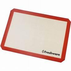 freshware non stick silicone baking mat half size bm 102 walmart com