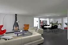 salon de maison moderne extension contemporaine vignoble chenois architecte