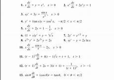 Solved X Dy Dx Y E X X Gt 0 E X Dy Dx 2 E X Y 1 X