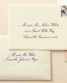 How To Address Formal Wedding Invitations how to address guests on wedding invitation envelopes
