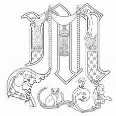 Malvorlagen Mittelalter Buchstaben Alphabet On