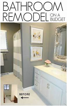 bathroom renovation ideas on a budget diy bathroom remodel on a budget livelovediy bloglovin