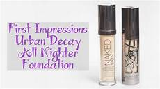 testing new makeup decay all nighter liquid