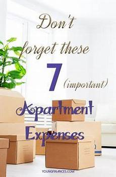 Apartment Living Expenses by Apartment Budgeting Basics How Much Rent Can You