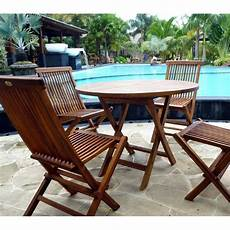 jardin teck table de jardin en teck avec chaises en teck