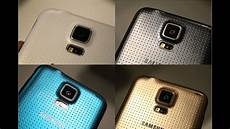 samsung galaxy s5 gold black blue white