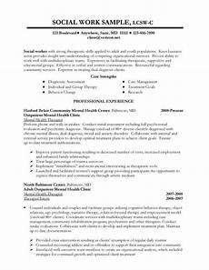 sle social work resume exles resume skills sle