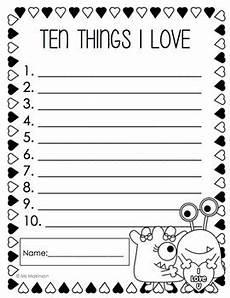 s day writing worksheets 20627 february printables kindergarten literacy and math by ms makinson