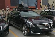 who does this self driving cadillac ct6 belong to