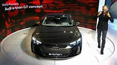 audi e gt concept reveal at the los angeles auto show