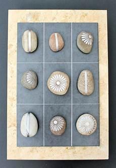 steine kleben basteln silvered pebbles a diy garden for summer
