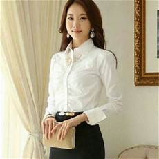baju kemeja lengan panjang putih terbaru murah