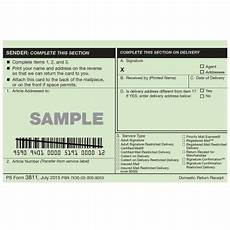 domestic return receipt usps com